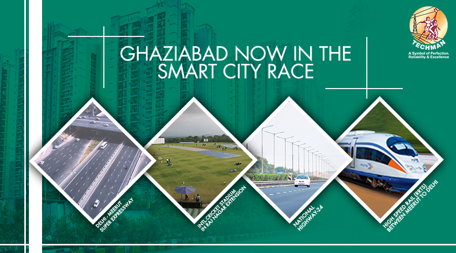 Ghaziabad now in the Smart City